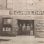 Hilldrup on William Street in the early 1900s.
