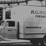 Hilldrup truck from the 1920s or 1930s.