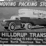 Old Billboard for Hilldrup