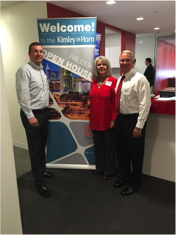 Hilldrup celebrates successful relocation of kimley horn s Kimley horn