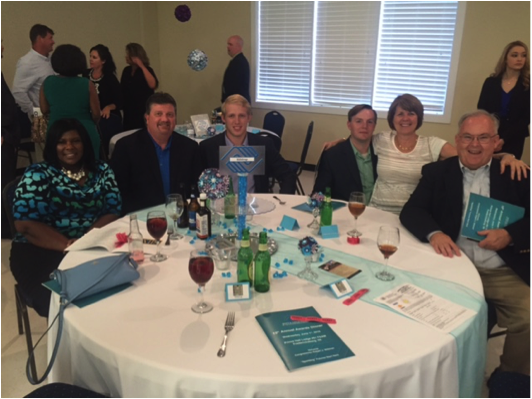 Hilldrup team members attending the Boys & Girls Club of the Rappahannock Region's 15th Annual Awards Dinner