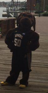 UMBC mascot