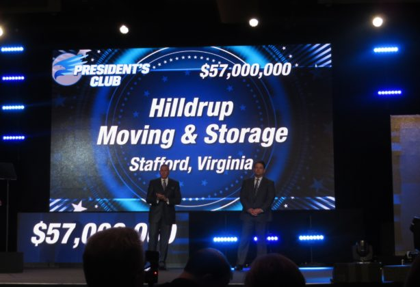 Hilldrup wins President's Club Award from UniGroup
