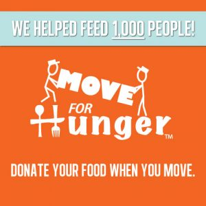 Move For Hunger ad