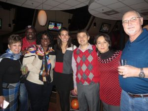 Hilldrup team at Christmas party