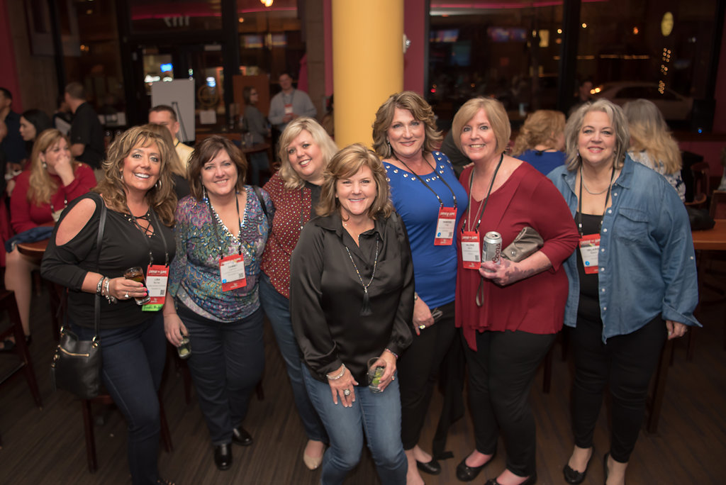 Group of ladies at an event