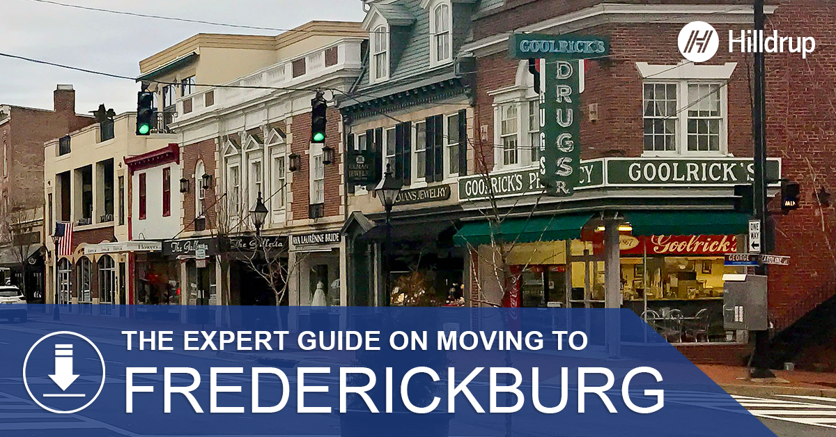 Downtown fredericksburg