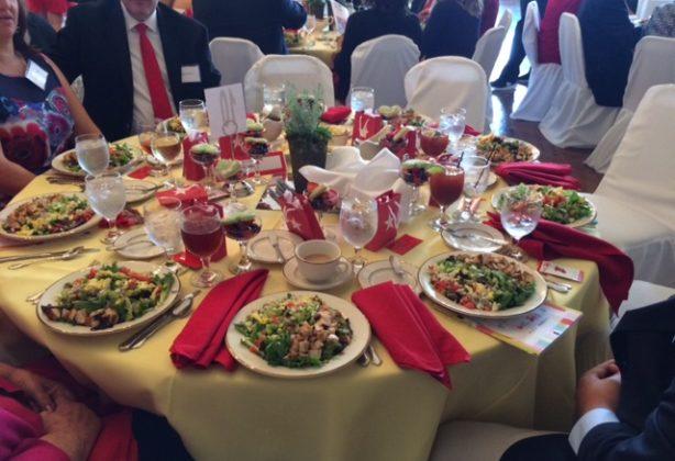 Food at Heart Association brunch