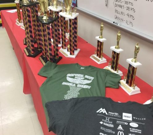 Awards from Drill Meet