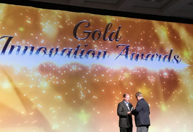 Gold Innovation Award accepted by Russ Watson