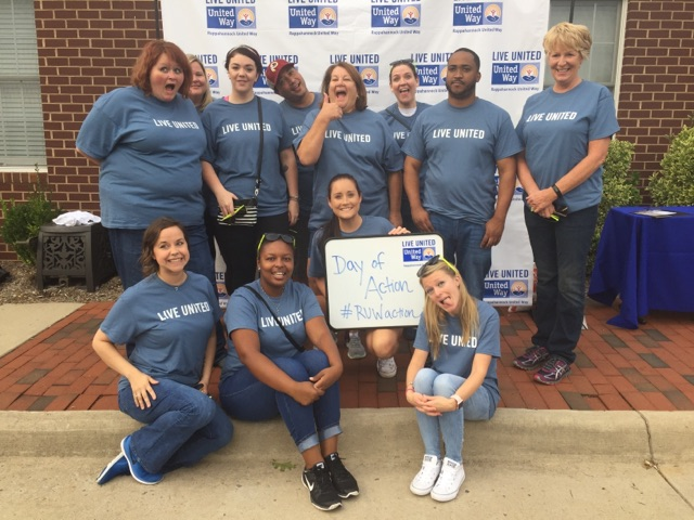 United Way Day Of Action Hilldrup