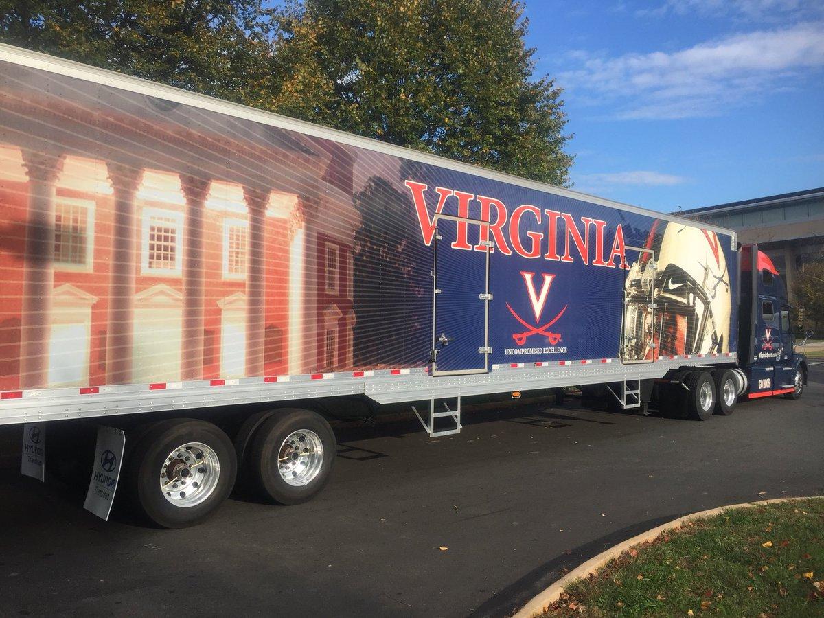 UVA Truck heading to Pittsburgh