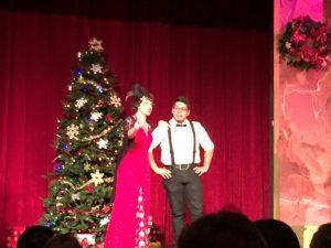 Hilldrup Orlando employees at a Christmas show