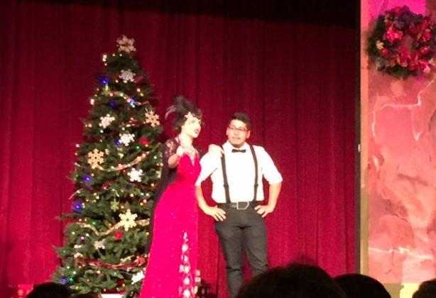 Orlando team enjoys a Christmas show