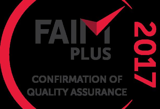 FAIM Plus certificate 2017