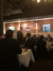 Charles W. McDaniel at Sales Dinner event