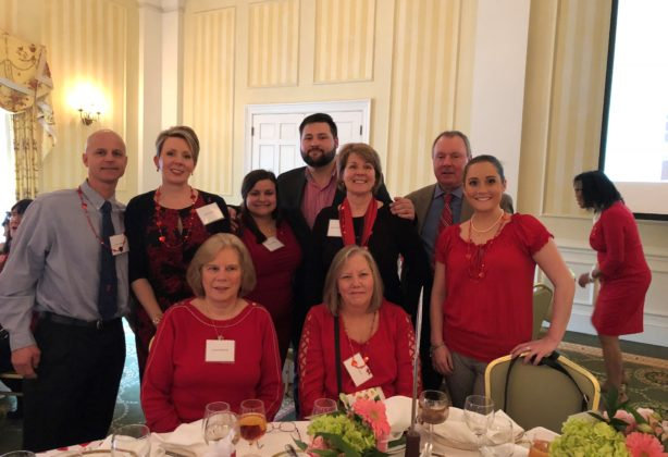 Hilldrup team at Go Red brunch