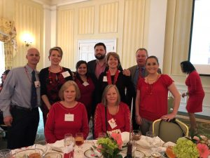 Hilldrup Employees at Go Red brunch