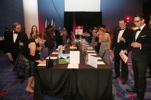 Silent Auction at Charlotte Heart Ball