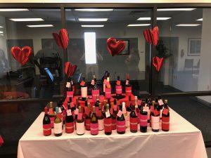 Valentine's Day wine activity