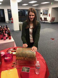 Hilldrup employee picks winner out of raffle