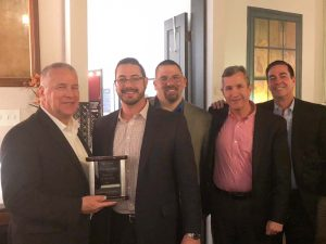 Orlando Sales Team with their GM, Ed Fitzgerald
