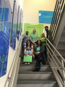 Raleigh team on St. Patrick's Day