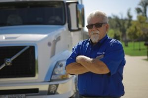 Bob Fitzgerald with truck