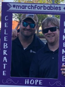 Hilldrup employees at March for Babies event