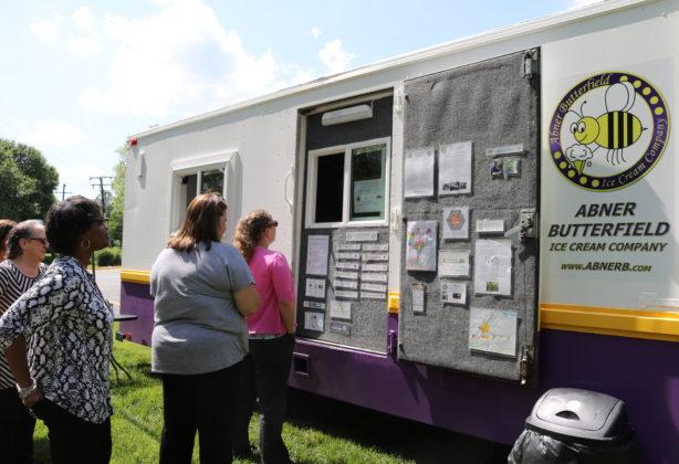 Abner Butterfield ice cream truck