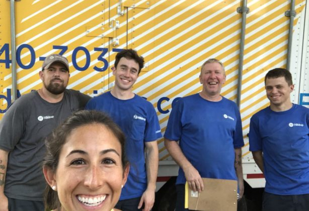 Hilldrup moving crew with Jordan McDaniel