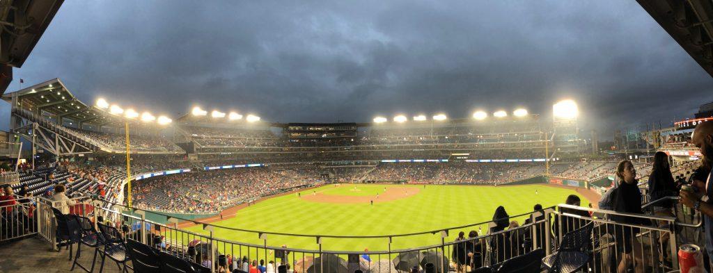 Nationals stadium in D.C.