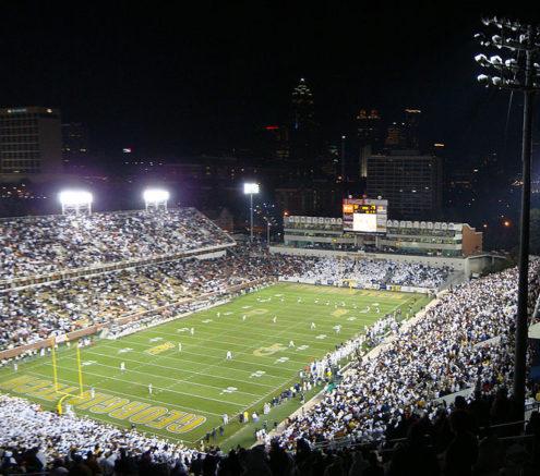 Bobby Dodd Stadium in Miami