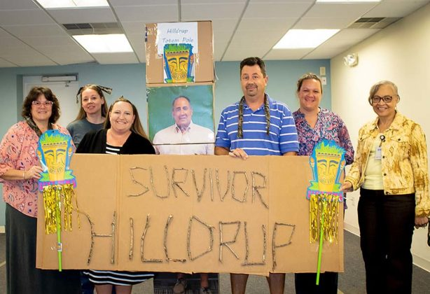 Hilldrup Survivor game winners