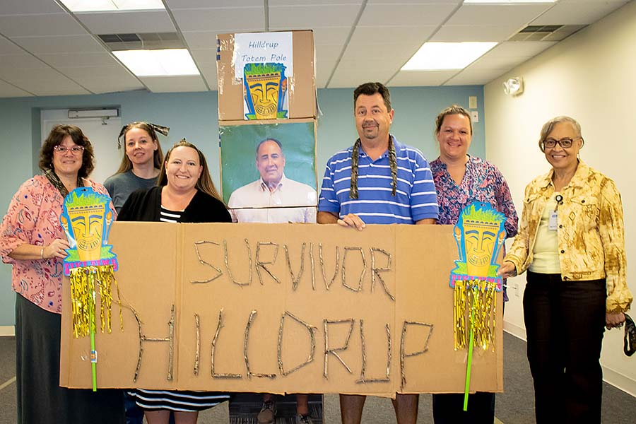 Hilldrup Survivor game winners