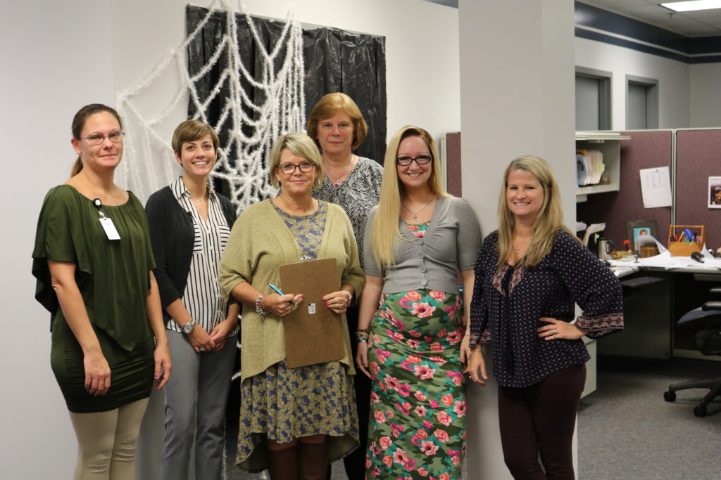 Hilldrup employees enjoy Halloween activity together