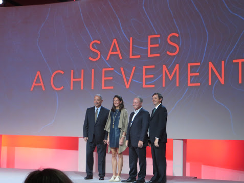 Sales Achievement Award Winners