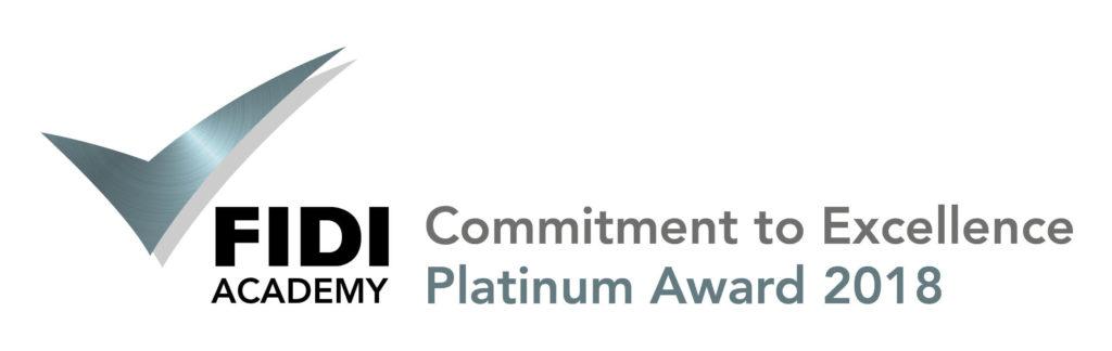FIDI's Platinum Award logo