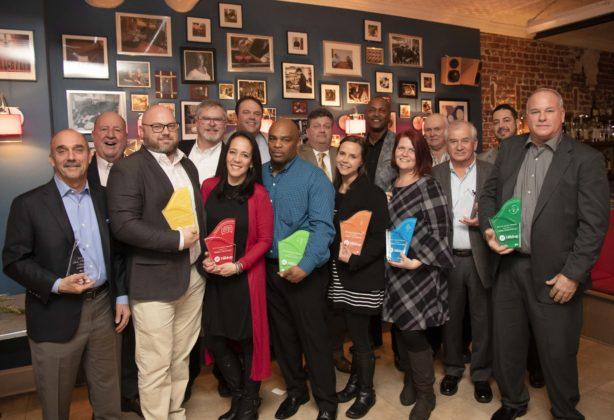 Award winners at Hilldrup's Best of the Best Awards Dinner