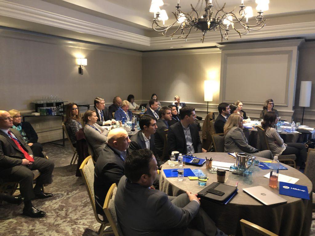 Participants of the Mobility Forum in Washington, D.C.