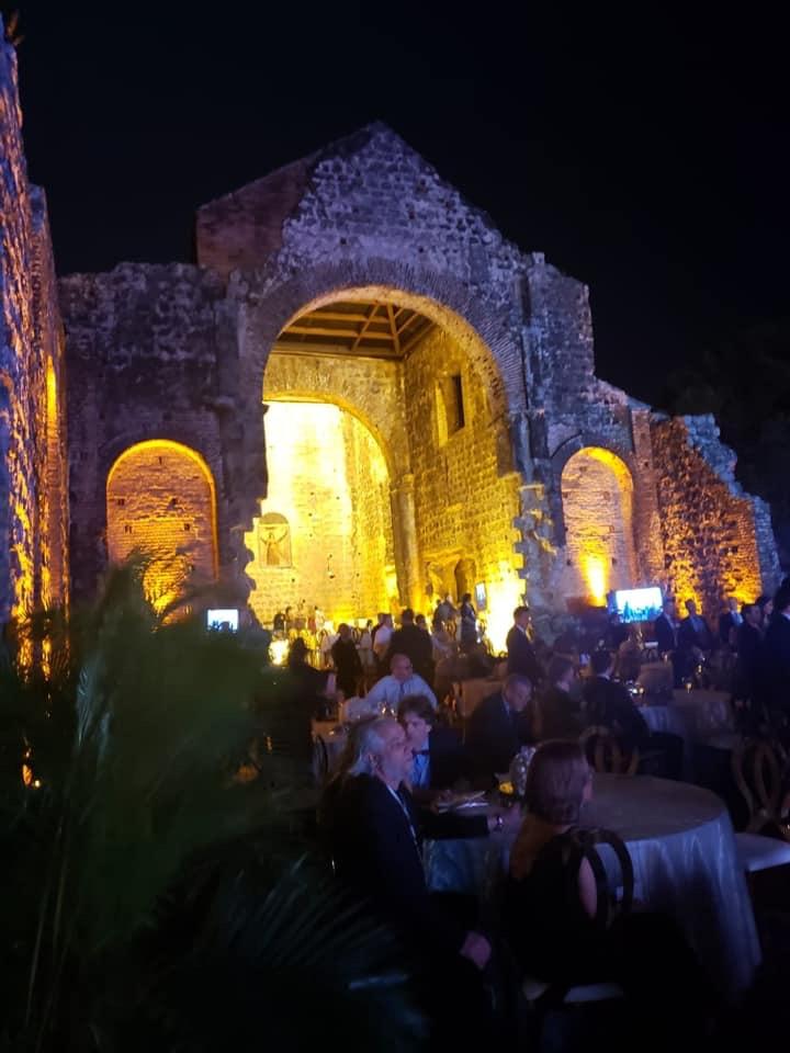 LACMA's 50th anniversary dinner in Panama City Ruins