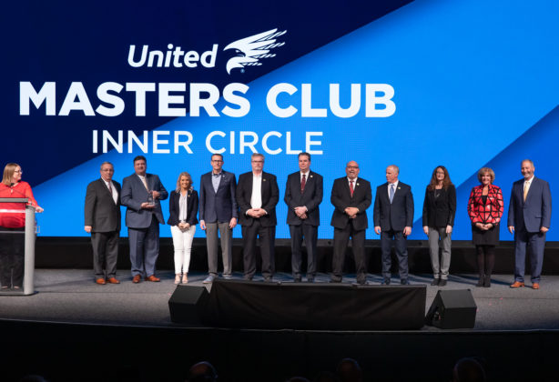 Receipients of the Masters Club Inner Circle at the 2019 Learning Conference