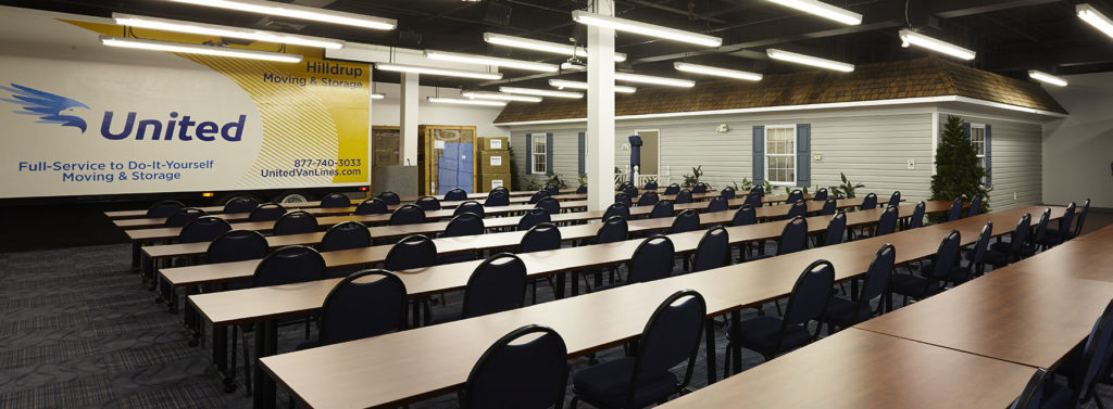 Hilldrup's Stafford location's training room