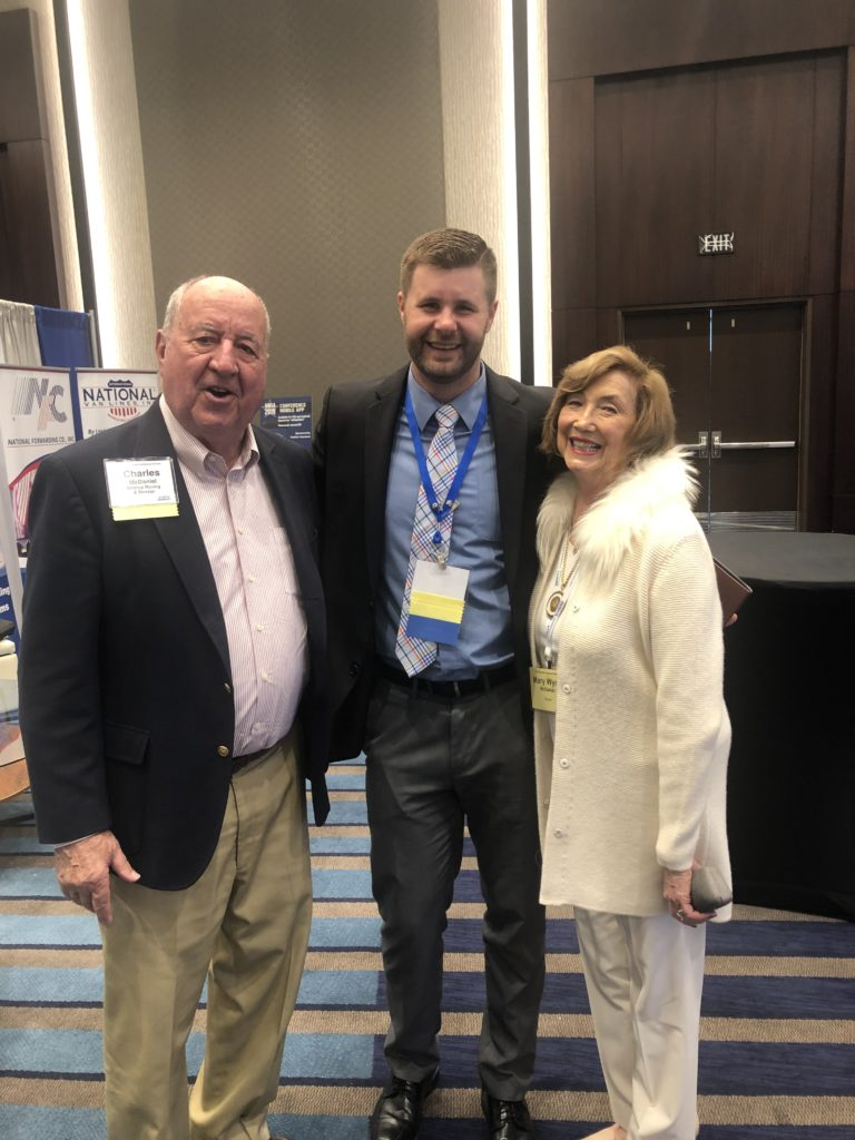 Mr. and Mrs. McDaniel with a friend and attendee of the conference