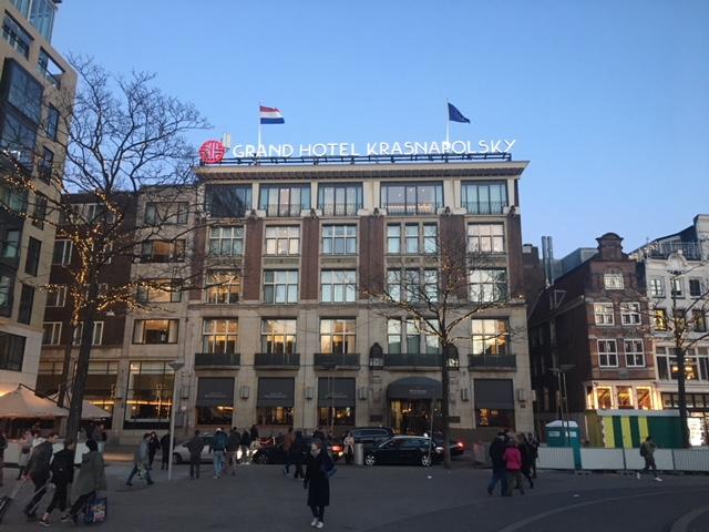 Grand Hotel Krasnapolsky in Amsterdam