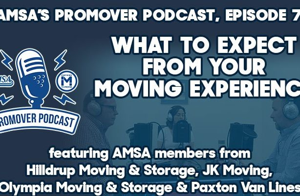 Advertisement for AMSA's ProMover podcast