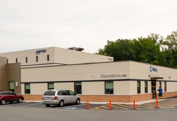 Hilldrup's Corporate Headquarters in Stafford