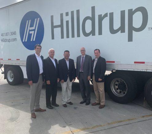 Hilldrup's Atlanta team welcomes FMCSA Administrator, Raymond Martinez at the branch.