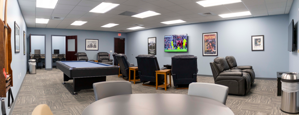 Hilldrup's Driver's Lounge located at our Corporate Headquarters