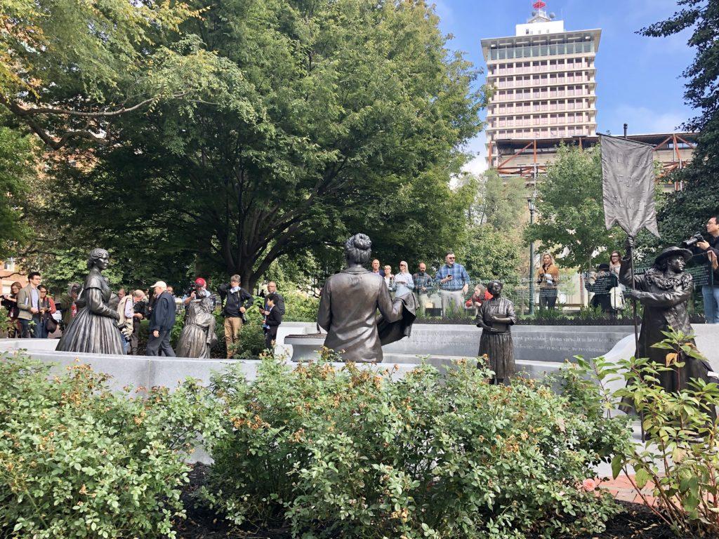 The Virginia Women's Monument in Richmond, VA